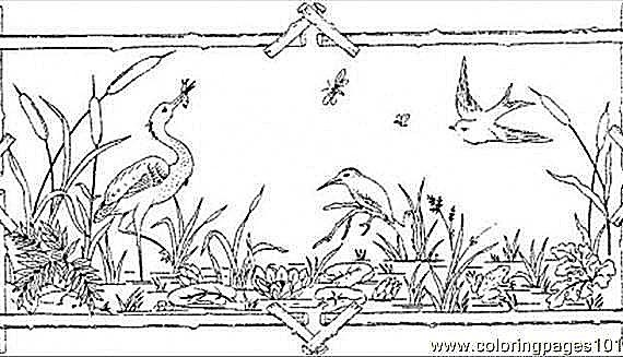 wetland coloring pages coloring pages. Black Bedroom Furniture Sets. Home Design Ideas