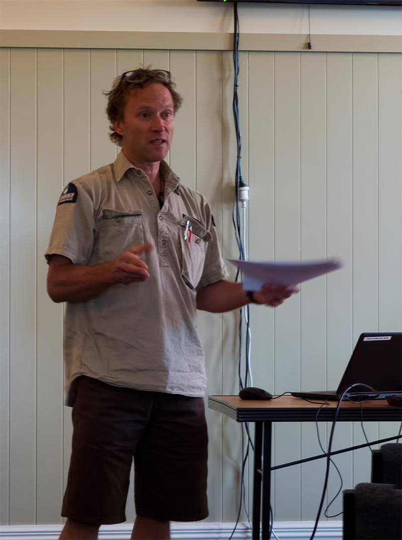 John Skilton, Travis Wetland Trust AGM 2016